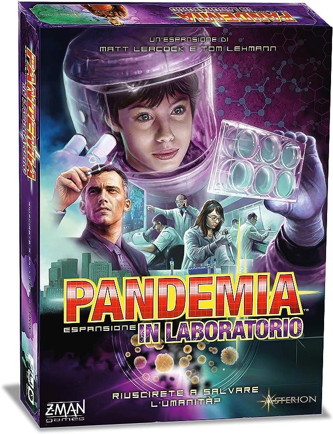 Asterion – Juego Pandemia:In Laboratorio (versión Italiana), código 8382: Amazon.es: Juguetes y juegos