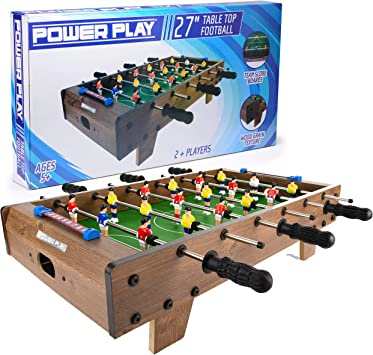 Power Play Juego de futbolín TY5893DB: Amazon.es: Juguetes y juegos