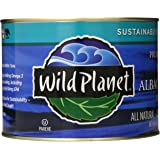 Wild Planet Bulk Wild Albacore Tuna in Water, 66.5 Ounce