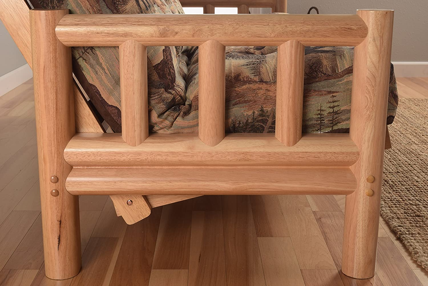 Outstanding Log Futon Frame Embellishment - Ideas de Marcos ...