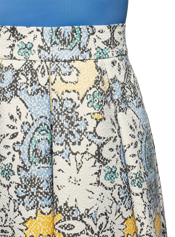 oodji Collection Mujer Falda Midi con Pliegues: Amazon.es: Ropa y accesorios