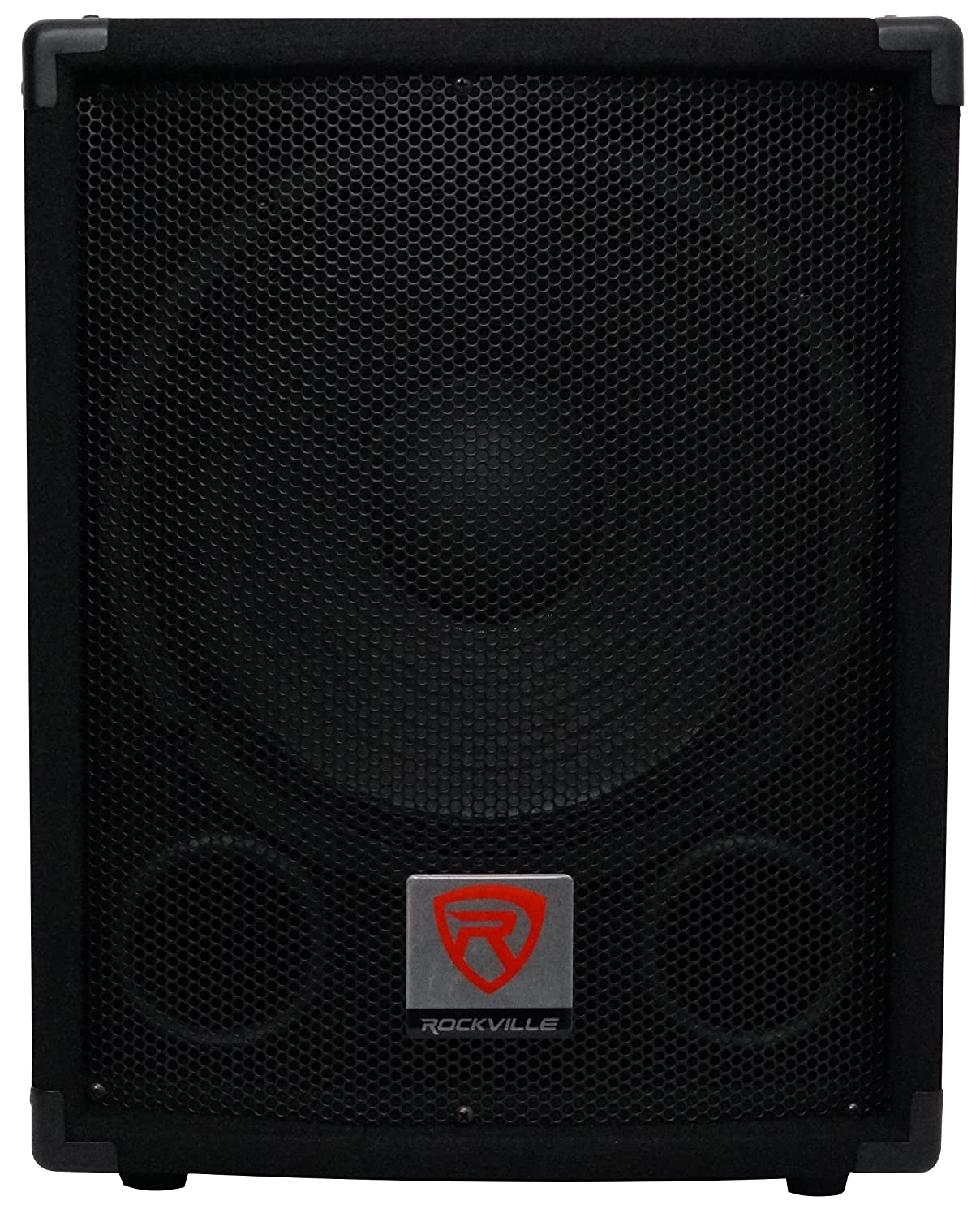 Rockville SBG1124 12-Inch 600 Watt Passive 4-Ohm Pro DJ Subwoofer, MDF/Pole Mount Audiosavings