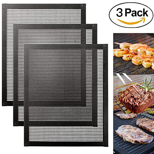 Kona Best Bbq Grill Mat Set Of 2 Mats For Grilling Meat