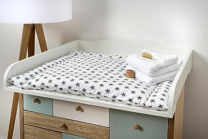Fuerza Kids cambiador ufsatz Color Blanco para cómoda hemnes ...