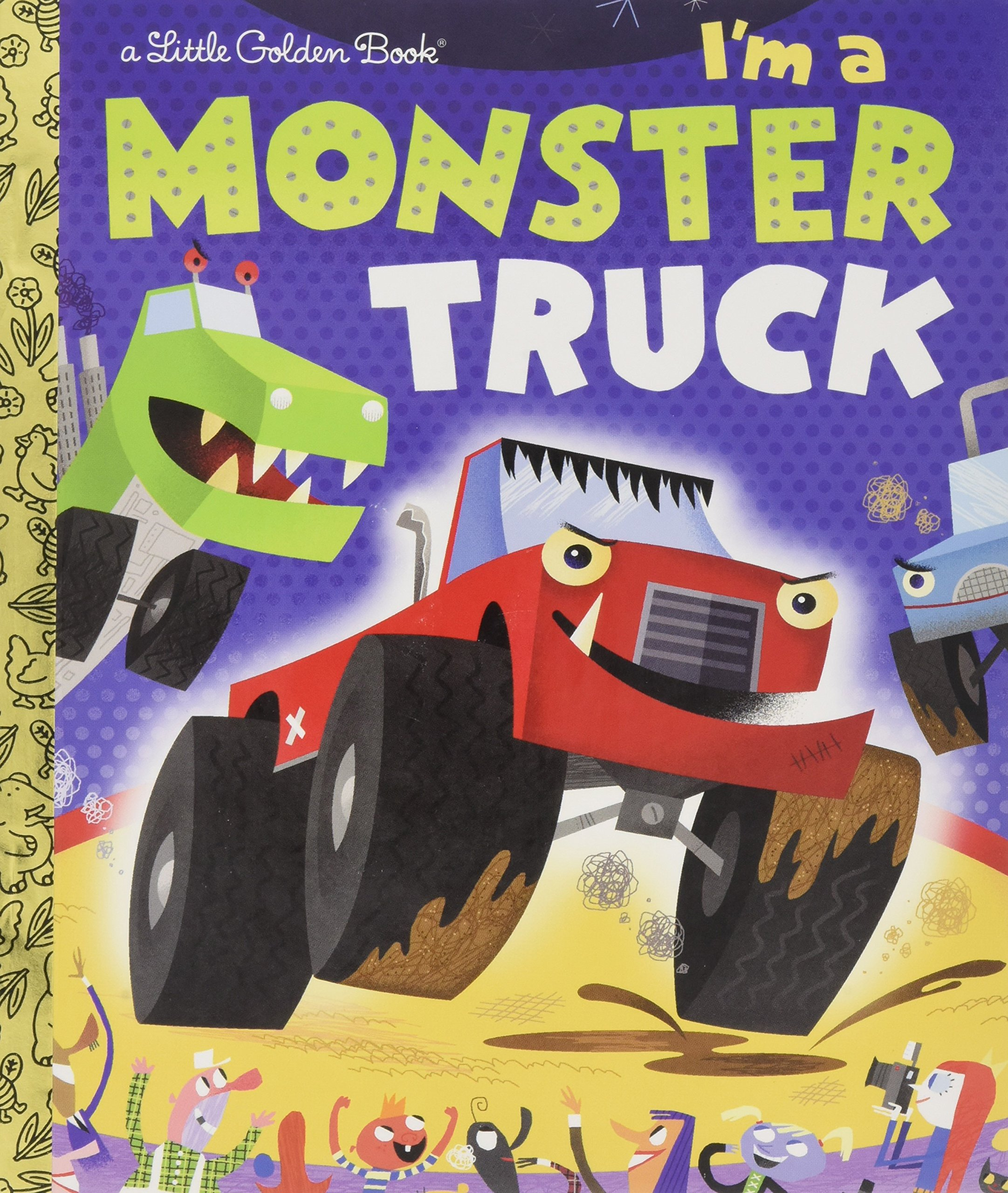 Monster Truck Little Golden Book product image