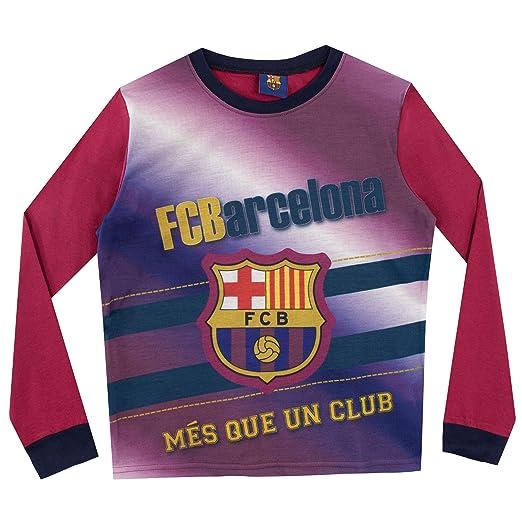 FCB FC Barcelona Pijama para Niños Football Club 3-4 Años: Amazon.es: Ropa y accesorios
