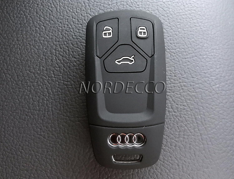Neuf haute qualit/é Coque en silicone 3/boutons Smart sans cl/é Porte-cl/és Coque de protection 2016/2017/Audi A3/A4/A5/A6/A7/Q2/Q3/Q5/RS4/RS5/RS6/Sq7/Q7/A8/&n