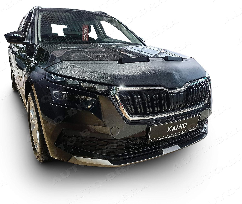 ab 2019 Haubenbra Steinschlagschutz Tuning Bonnet Bra Auto-Bra AB3-00441 kompatibel mit Skoda KAMIQ Bj