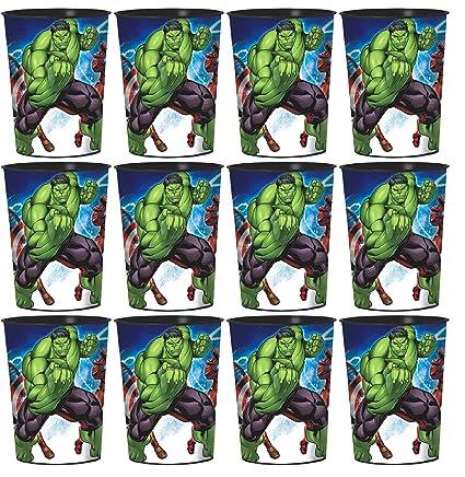 Amazon.com: Epic Vengadores Favor tazas Conjunto de 12: Toys ...