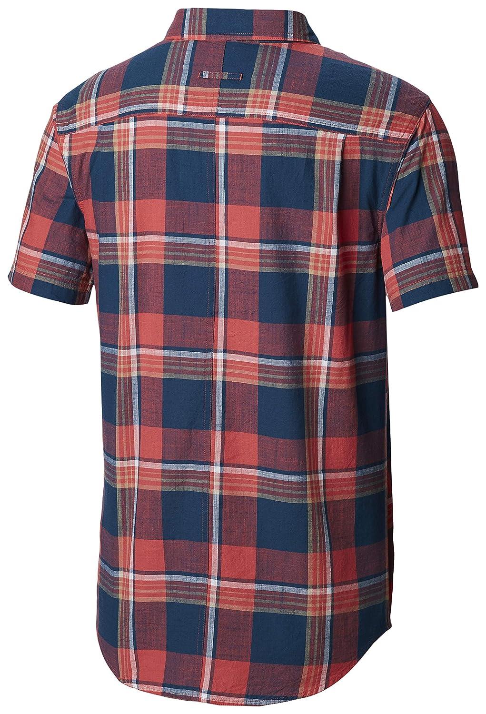Columbia Mens Big and Tall Leadville Ridge Yarn Dye Short Sleeve Shirt