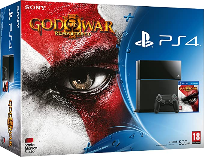 Playstation 4: Console 500Gb B Chassis + God Of War III ...