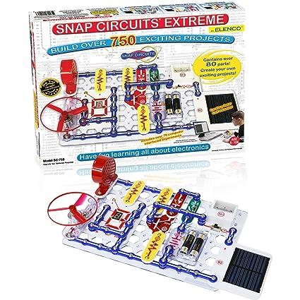 Snap Circuits Extreme Sc-750 Electronics Exploration KitOver 750 Stem Project