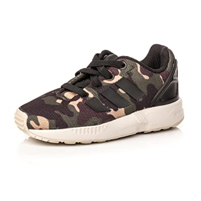 aa75059ec0e adidas Boys Originals Infant Boys ZX Flux Camo Trainers in Black - 8.5  Infant