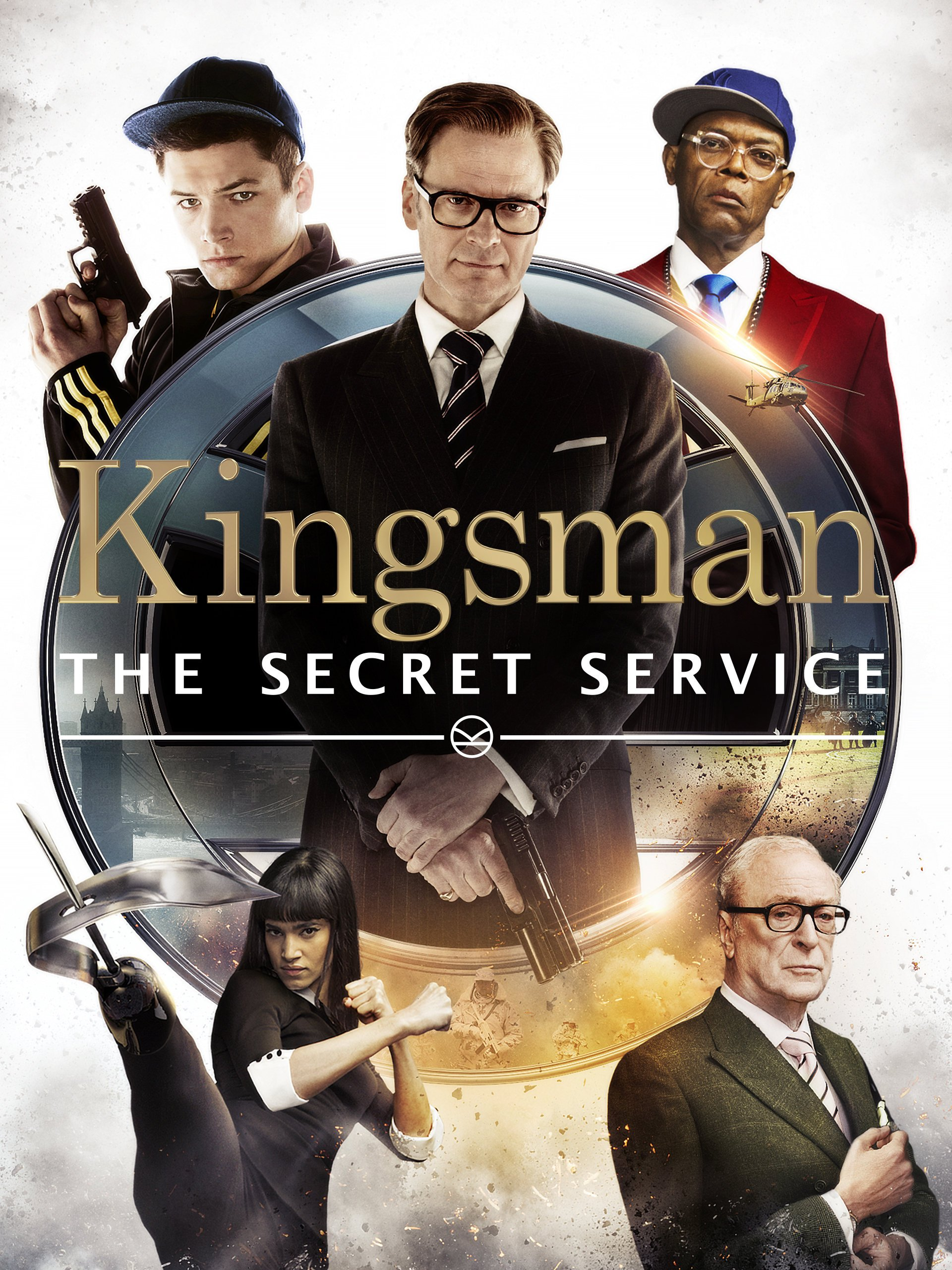 Amazon Kingsman The Secret Service Colin Firth Taron