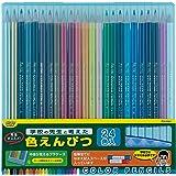 レイメイ藤井 色鉛筆 24色 先生おすすめ ブルー RE141
