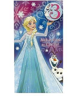 Marvelous Age 7 Birthday Card Frozen Birthday Card 7Th Birthday Frozen Funny Birthday Cards Online Fluifree Goldxyz