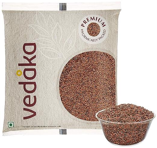 Vedaka Premium Flaxseeds, 500g