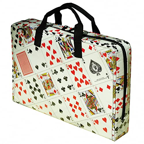 62941c7fbd0e Amazon.com: LAPTOP briefcase made of playing cards, FREE SHIPPING ...