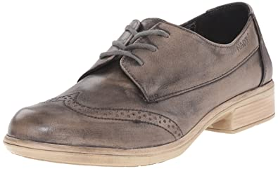 Naot Women's Lako Oxford, Vintage Gray Leather, 35 EU/4.5-5 M