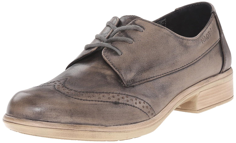 NAOT Women's Lako Flat B00TQA6WKM 38 EU/6.5-7 M US|Vintage Gray Leather
