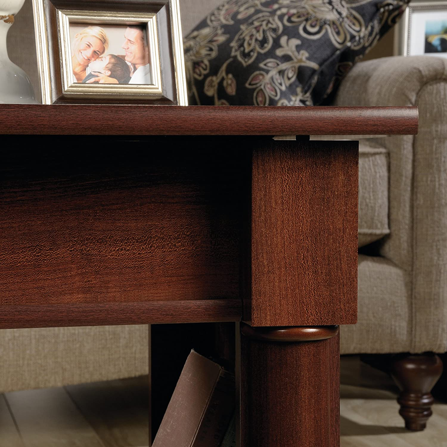 Sauder 420520 Lift-Top Coffee Table Select Cherry