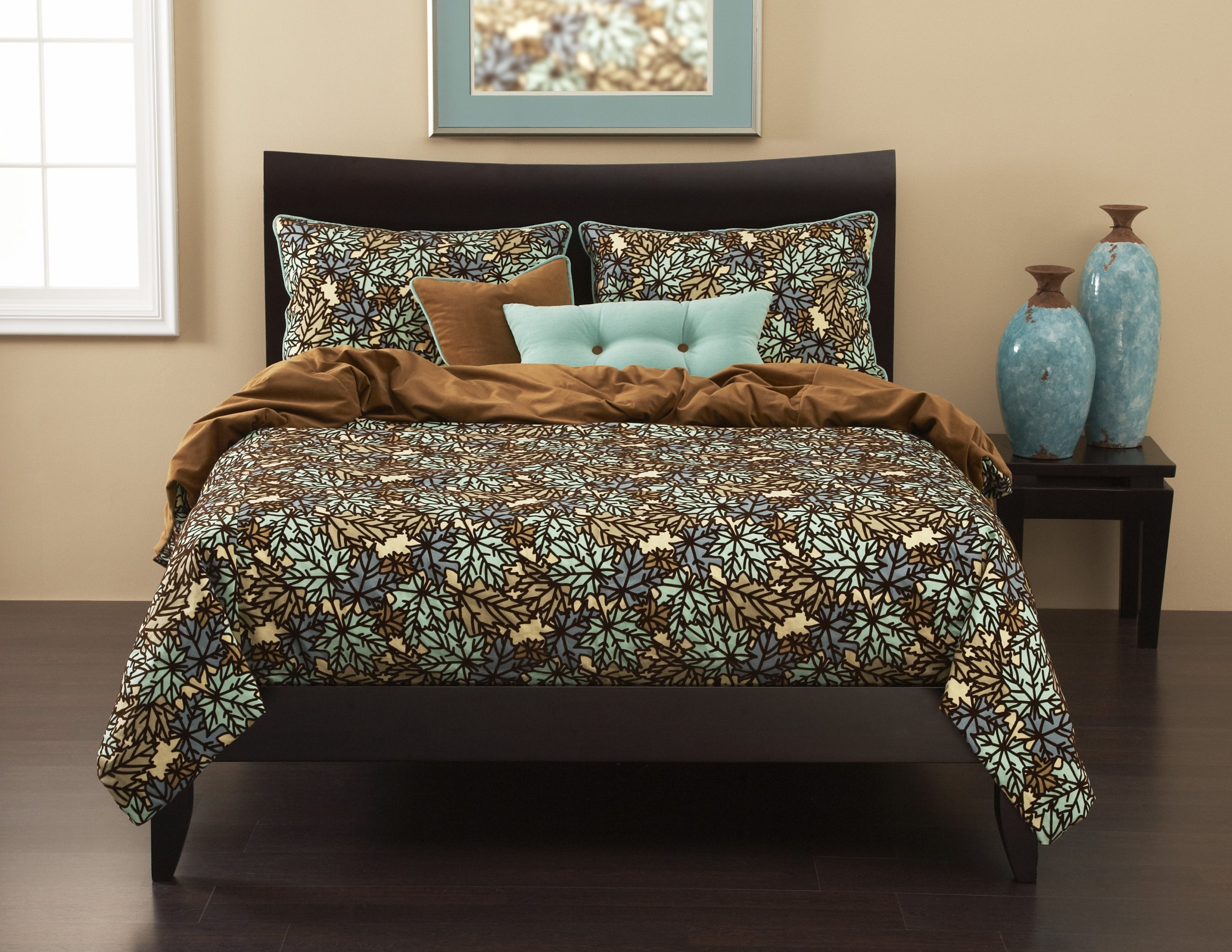 Siscovers 5-Piece Press Leaf Spa Duvet Set, Twin by SIS Covers (Image #1)