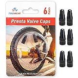 Cy/_ Bike MTB Aluminium Presta Valve Cap Light Dust Cover Bicycle Fixie Road Race