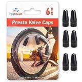 Presta Valve Caps - Tire Valve Stem Caps 6pcs - Anodized Presta Valve Caps - Dust Caps Tire - Bike Presta Valve Cap…