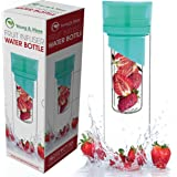nfuser Water Bottle 24 Oz - Top Gifts for Mom - Made with TRITAN BPA Free - Free Recipe Ebook Download