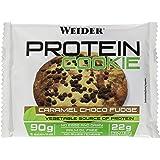 Weider Protein Cookie, Caramel Choco Fudge, 12 x 90 g, 1080 g