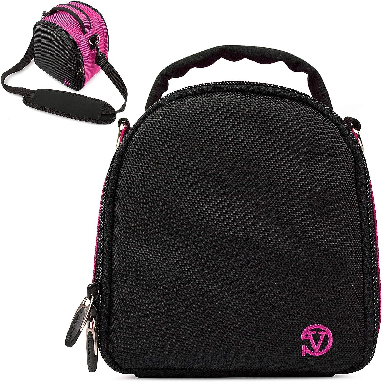 VanGoddy Laurel Magenta Carrying Case Bag for Sony Handycam Series Camcorder's