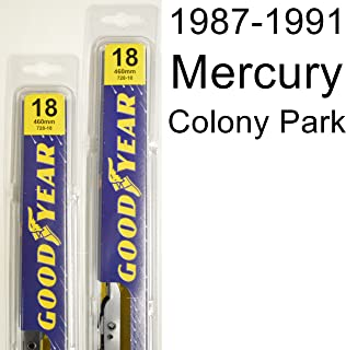"product image for Mercury Colony Park (1987-1991) Wiper Blade Kit - Set Includes 18"" (Driver Side), 18"" (Passenger Side) (2 Blades Total)"