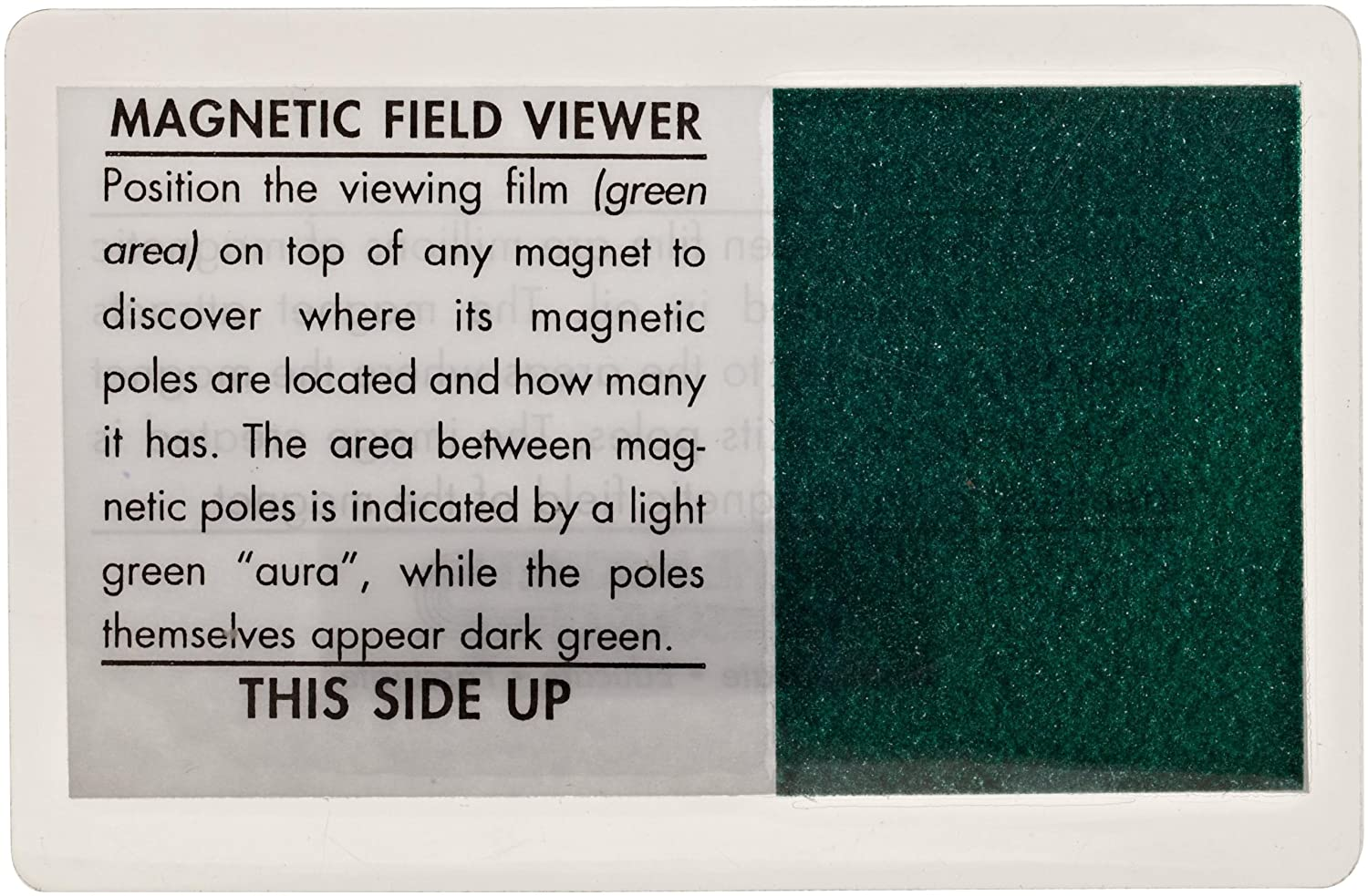 Amazon.com: Magnet Source Magnetic Field Viewer Card (Pack of 1 ...