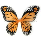 "Perfectmaze 14"" x 18"" Monarch Butterfly Wings Dress Up Halloween Costume"
