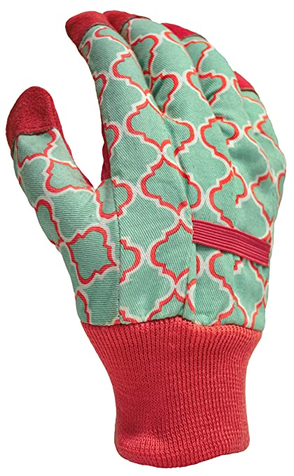 b010b973e Amazon.com : DIGZ Leather Palm Garden Gloves with Knit Wrist, Small :  Garden & Outdoor