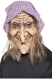Smiffys Mens Old Witch Mask