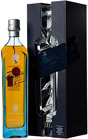 Johnnie Walker Blue Label Limited Edition Rare Character Whisky Gift Pack, 70 cl