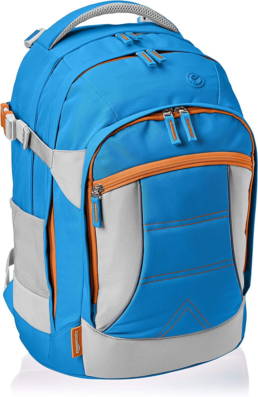 AmazonBasics - Mochila ergonómica (azul, 30 litros)