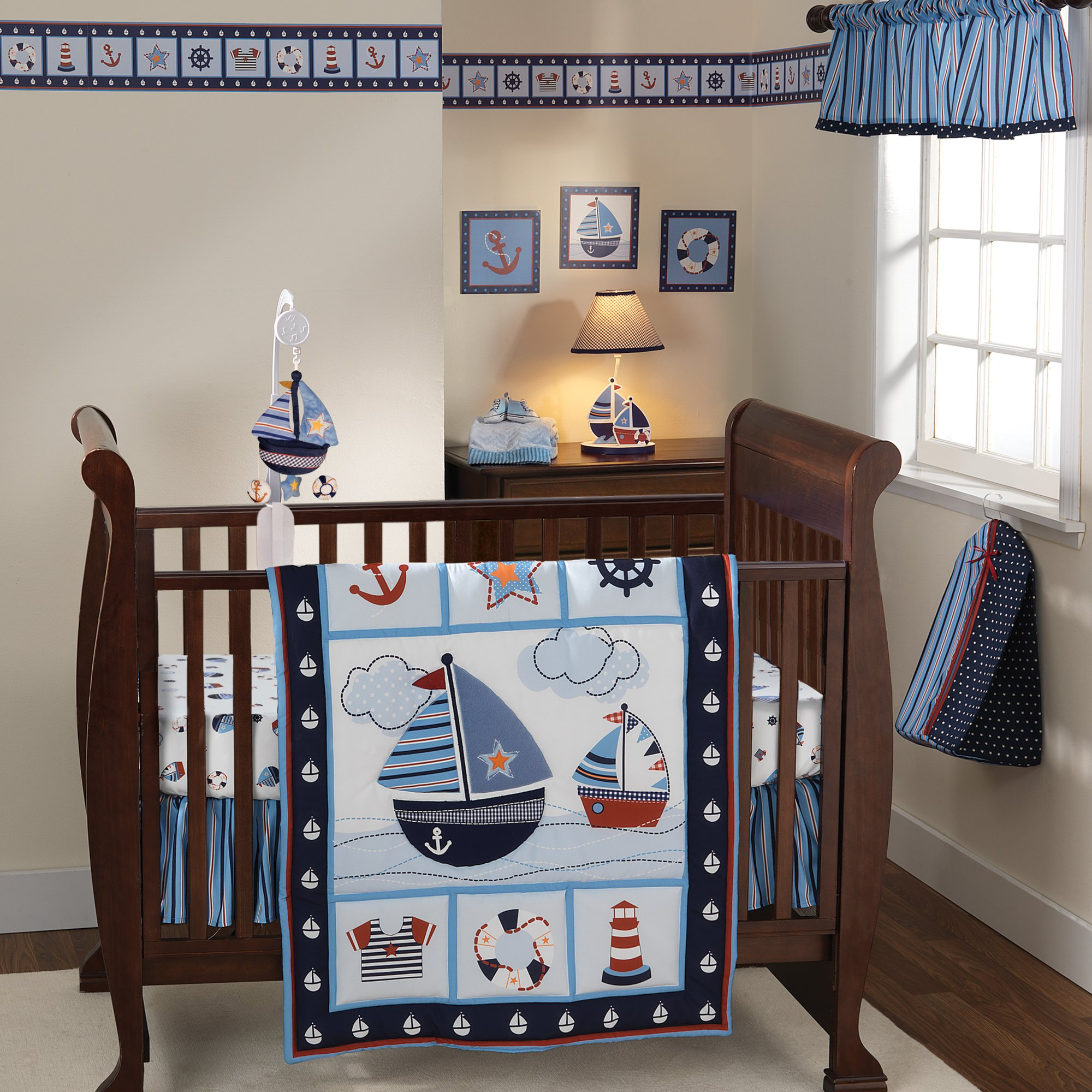 Bedtime Originals Sail Away Wallpaper Border