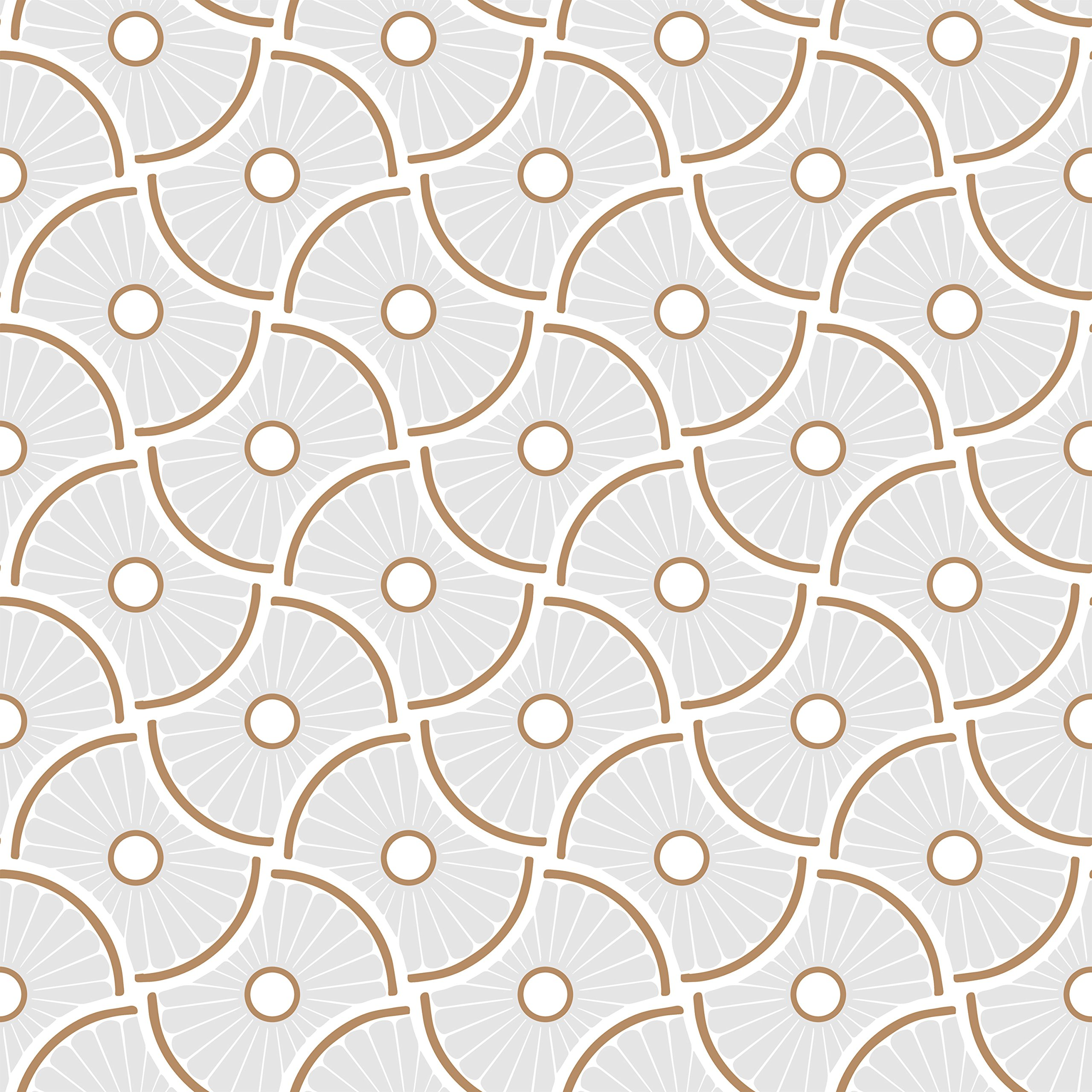 Novogratz WH471 Wheels Removable Wallpaper, 20.5'' W x 16.5' Long = 28 sq.ft, Mist by Novogratz