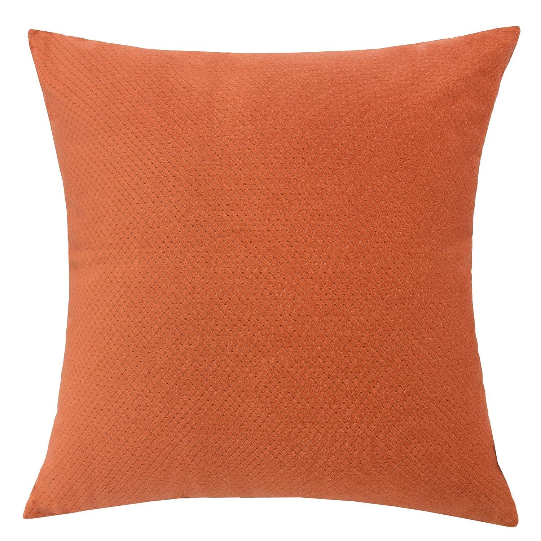 Amazon.com: Almohada decorativa de terciopelo suave macizo ...