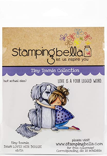 Stamping Bella Cling Stamps-There There Tiny Townie EB954