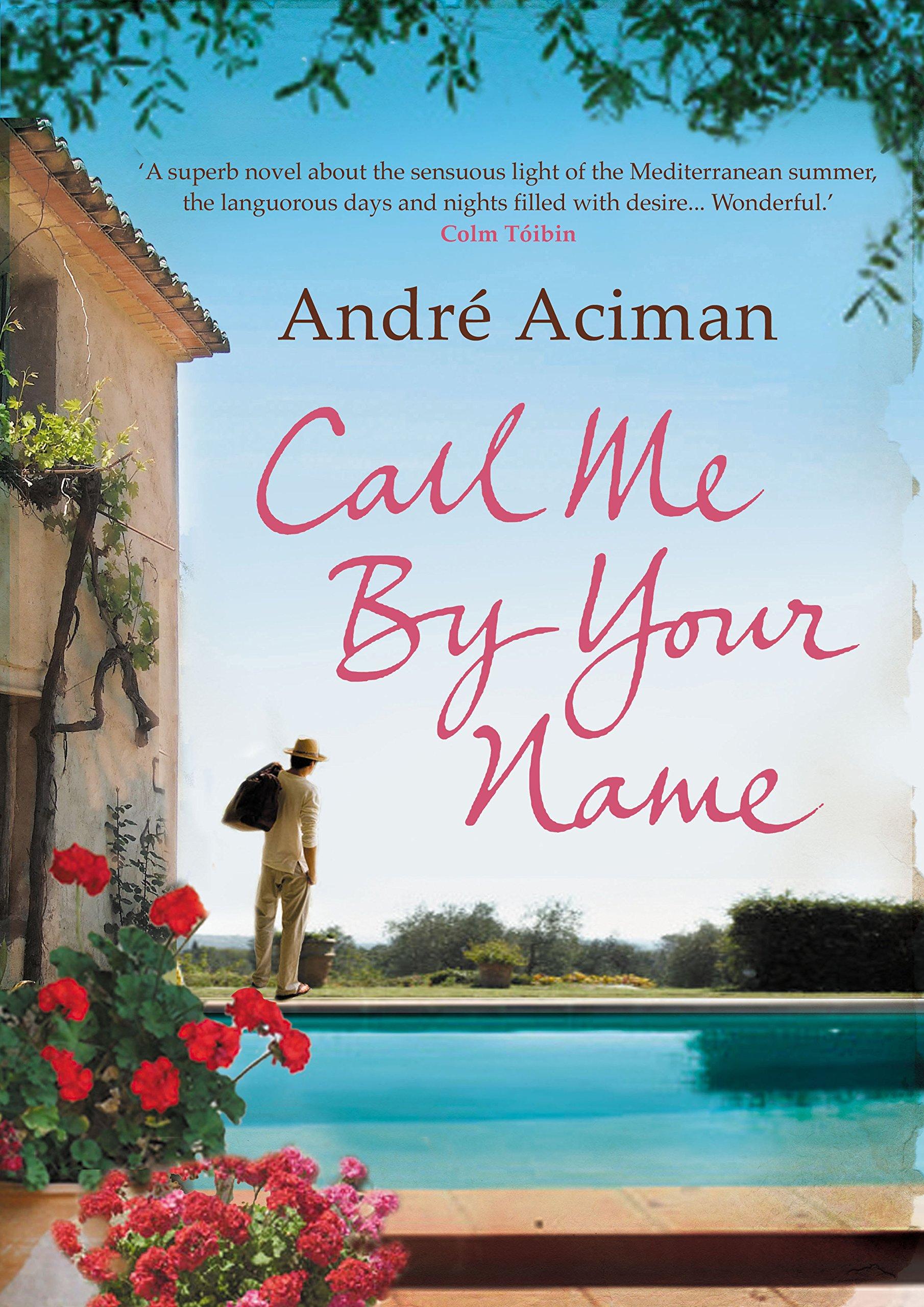 Αποτέλεσμα εικόνας για call me by your name book