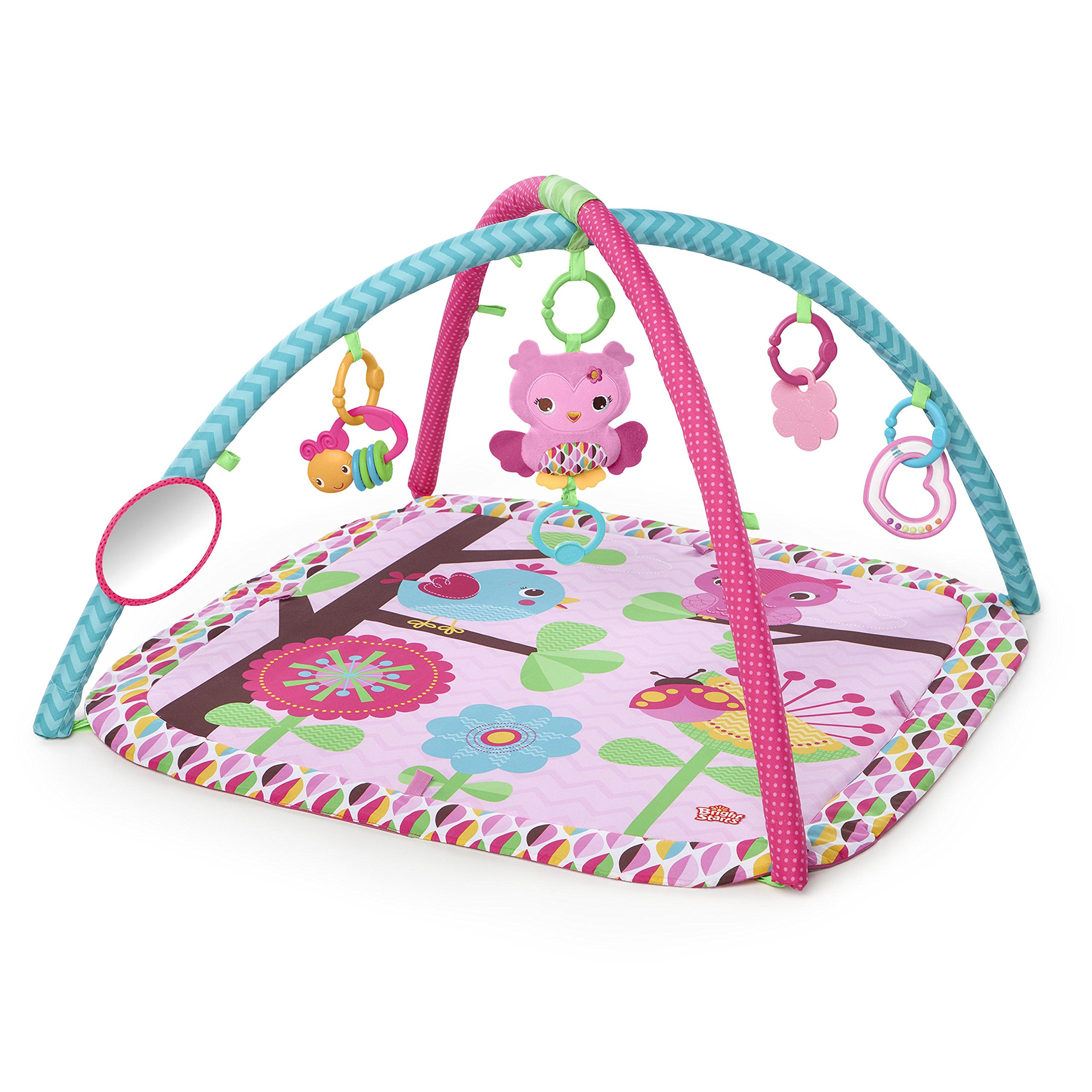 Bright Starts Charming Chirps Activity Gym, Pretty In Pink by Bright Starts (Image #1)