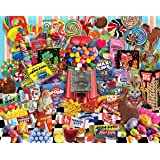 White Mountain Puzzles Candy for All Seasons - 1000 Piece Jigsaw Puzzle