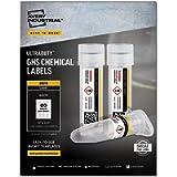 AVERY UltraDuty GHS Chemical Labels for Laser Printers, Waterproof, UV Resistant, Pack of 1,500 (60518), .5 x 1.75'