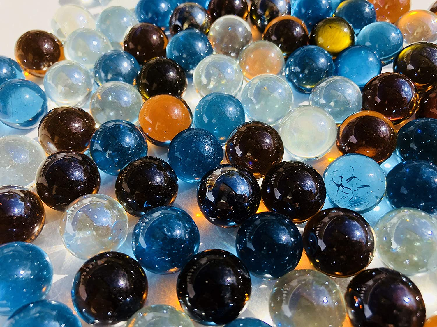 Crystal King Colourful Glass Marbles Marble Decoration Ball N16 Mm