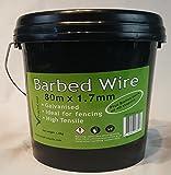 Practicool Barbed Wire 80m x 1.7mm Galvanised with 40 Bonus Staples
