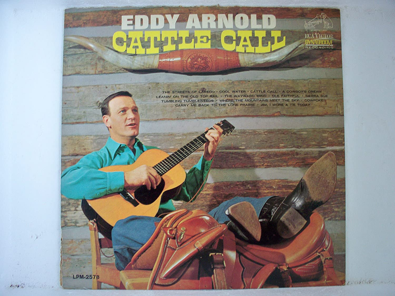 Eddy Arnold Cattle Call Lp Amazoncom Music