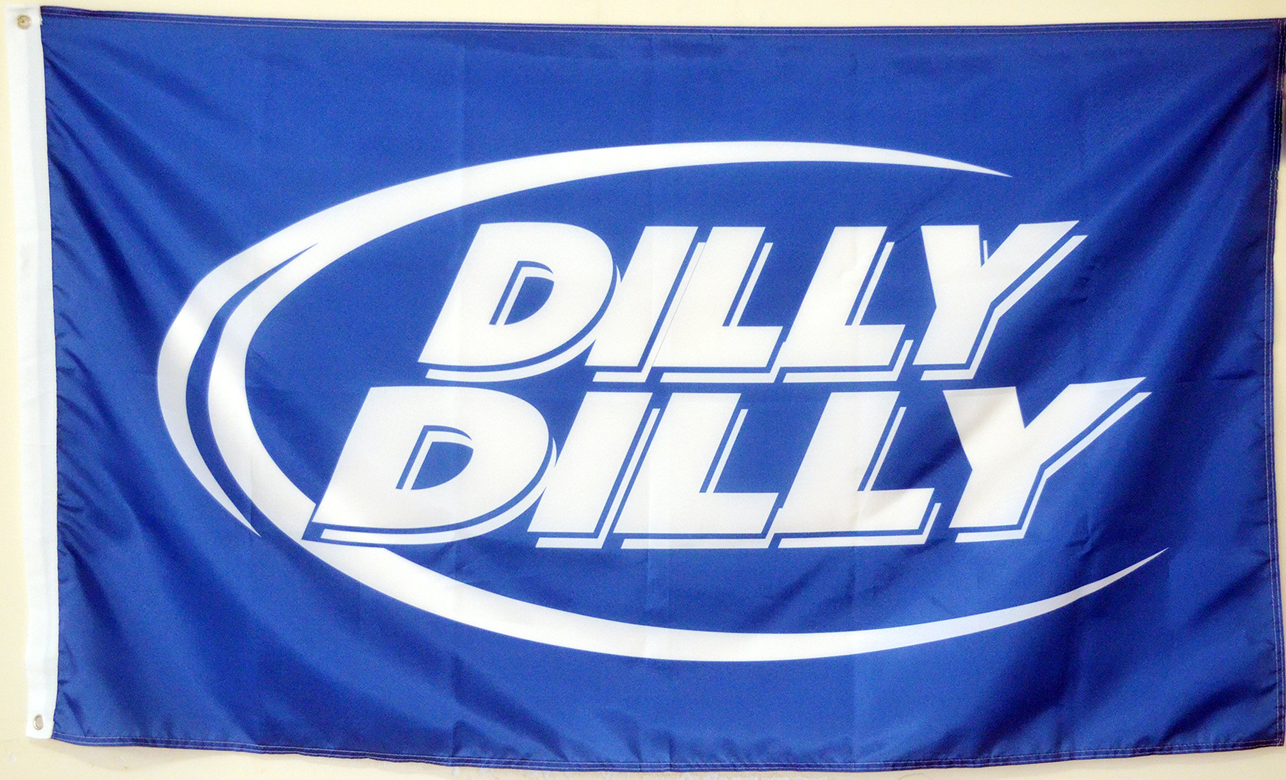 2But Bud Light Dilly Dilly Beer Flag Banner 3X5 Feet Blue